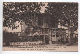 ANTIBES (06) -  CAFE RESTAURANT CARDINAL - 1 ROUTE DE NICE - AU PONT DE LA GARE - Antibes