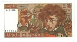 FRANCE10FRANCS01/07/1976UNCBERLIOZ.CV. - 10 F 1972-1978 ''Berlioz''