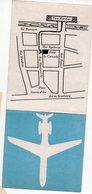 Toulouse (31 Haute Garonne)    Carte Professionnelle HOTEL LA CARAVELLE (PPP21617) - Advertising