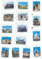 EMBALLAGES DE SUCRE-ROME-MONUMENTS-2 SCANS- - Sucres