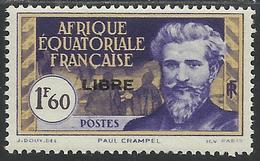 AFRIQUE EQUATORIALE FRANCAISE - AEF - A.E.F. - 1940 - YT 119** - A.E.F. (1936-1958)