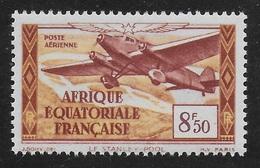 AFRIQUE EQUATORIALE FRANCAISE - AEF - A.E.F. - 1937 - YT PA 7** - MNH - Unused Stamps