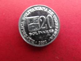 Venezuela  20 Bolivares  2002 Y81 A2 - Venezuela