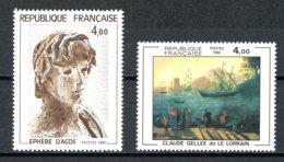 France   Y&T   2210 - 2211    XX    ---    Excellent état. - France