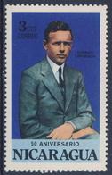 Nicaragua 1977 Mi 1988 SG 2116 ** Charles Lindbergh (1902-1974) - 50th Ann. Lindbergh's Transatlantic Flight - Altri