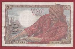 """20 Francs """"Pêcheur"""" Du 09/02/1950.E----TTB+---ALPH.A.244---ALPHABET PEU COMMUN - 20 F 1942-1950 ''Pêcheur''"""