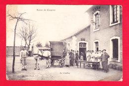 Guerre-14-18-(345)Ph61  Scène De Caserne, La Cantine, Attelage, Animation, Cpa - Guerre 1914-18