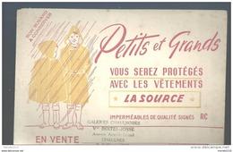 Buvard - Petits Et Grands Vous Serez Protégés Avec Les Vêtements * La Source * - Kleidung & Textil