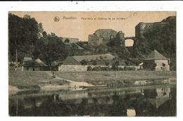 CPA-Carte  Postale -Belgique-Bouillon  Pont Levis Et Château Vu De Derrière-1920 VM13038 - Bouillon