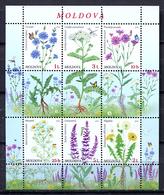 Moldova 2016 Moldavia  / Flowers MNH Flores Blumen Fleurs / Cu2409  31-51 - Sin Clasificación