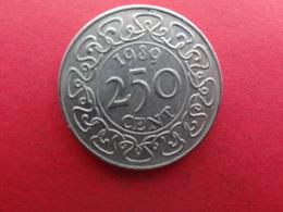Surinam  250 Cents  1989  Km 24 - Surinam 1975 - ...