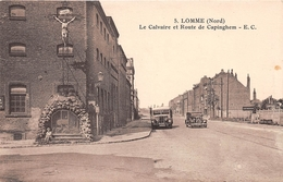 LOMME - Le Calvaire Et Route De Capinghem - Lomme