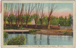 65  Maubourguet  Le Canal Du Vieux Moulin  Et Parc Des Spots - Maubourguet