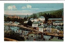 CPA-Carte Postale-Belgique-Bouillon-Panorama De La Semois,du Château Et De La Ville 1929-VM13040 - Bouillon