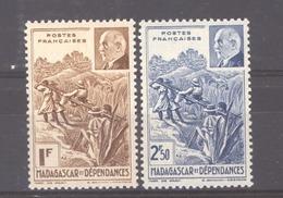 Madagascar  :  Yv  229-30  ** - Madagascar (1889-1960)