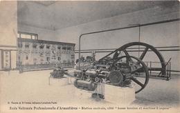 """ARMENTIERES - Ecole Nationale Professionnelle - Station Centrale, Côté """"basse Tension Et Machine à Vapeur"""" - Armentieres"""