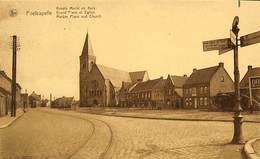 CPA - Belgique - Poelcapelle - Grand'Place Et Eglise - Langemark-Poelkapelle