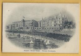 C.P.A. Monaco - Montecarlo - Majestic - Bristol Hôtels - Monte-Carlo