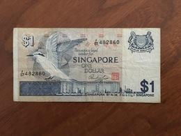 SINGAPOUR - 1 Dollar - P 9 - TTB - VF - Singapour