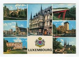 C.P °_ Luxembourg-multivues 7 Photos-1992 - Luxembourg - Ville