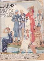 Louvre-catalogue été 1935 - Advertising