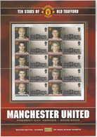 Gran Bretagna, 2003 Calcio, Campioni Del Manchester United, Smiler,  Perfetto - Personalisierte Briefmarken
