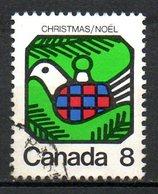 CANADA. N°516 Oblitéré De 1973. Colombe De La Paix. - Tauben & Flughühner