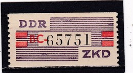 DDR, Dienst: Nicht Ausgegeben: ZKD Nr IV** (T 14760) - Official