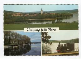 C.P °_ Suède-Nora-Hälsning Fran Nora-dentelée-1992 - Suède