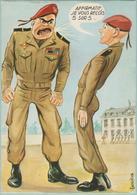 CPM:    Illustrateur CARRIERE:   Humour Militaire:  Affirmatif Je Vous Reçois 5 Sur 5.    (F149) - Carrière, Louis