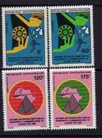 Centrafricaine  N° 560 / 63 XX Décennie Pour Les Nations-Unies Des Transports En Afrique Les 4 Vals Sans Charnière, TB - Centrafricaine (République)