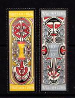 PAPUA  NEW  GUINEA    1969    Folklore  ( 2nd Series )    Set  Of  2  Pairs    MNH - Papua New Guinea