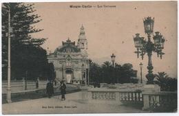 MONACO CPA Monte-Carlo LES TERRASSES éditeur JEAN BOCCI TB - Monte-Carlo