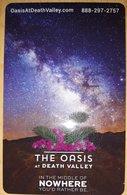 STATI UNITI  KEY HOTEL  The Oasis At Death Valley - Hotelkarten