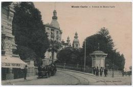 MONACO CPA Avenue De Monte-Carlo Devanture CALOU PARFUMEUR  éditeur JEAN BOCCI TB - Monte-Carlo