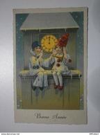 Bonne Année, Pierrot Et Colombine ... (8142) - Nouvel An