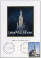 SS. PAOLO VI - 13 10 1967 CARD FDC VIAGGIO A FATIMA - Papi