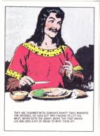 Postcard - Art - Harold R Foster - Prince Valiant Comic Strip - Copy Of Art Work  Pub. Sept 3 1944 - New - Unclassified