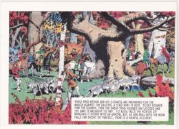 Postcard - Art - Harold R Foster - Prince Valiant Comic Strip - Copy Of Art Work  Pub. July 7th 1946 - New - Unclassified