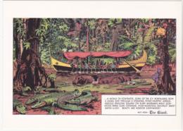 Postcard - Art - Harold R Foster - Prince Valiant Comic Strip - Copy Of Art Work  Pub. Jan 18th 1942 - New - Unclassified