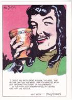 Postcard - Art - Harold R Foster - Prince Valiant Comic Strip - Copy Of Art Work  Pub. Jan 23rd 1944 - New - Unclassified