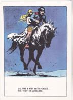 Postcard - Art - Harold R Foster - Prince Valiant Comic Strip - Copy Of Art Work  Pub. Jan 7th 1945 - New - Unclassified