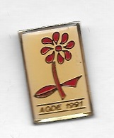 Pin's  Ville, LA  POSTE, Médical, DON  DU  SANG, AGDE  1991  ( 34 ) - Medical