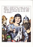 Postcard - Art - Harold R Foster - Prince Valiant Comic Strip - Copy Of Art Work  Pub. June 26 1938  - New - Unclassified