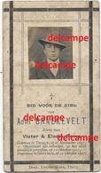 Oorlog Guerre Adiel Braekevelt Tielt Opgeeiste Soldaat Gesneuveld Te Dadizele Okt 1917 Begraven Te Beitem Poma - Santini
