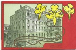 Come - Plinius Grand Hôtel - Carte Ancienne Avant 1904 - Décor Art Nouveau - Como