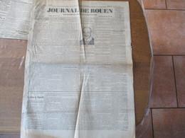 LE JOURNAL DE ROUEN DU 24 MAI 1914 HANSI LE DESSINATEUR PATRIOTE ALSACIEN DANS SA PRISON,M.DOUMERGUE EN VOYAGE A ROUEN - Altri