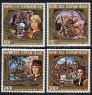 Centrafricaine N ° 718 / 21  XX  Hommage à Christophe Colomb  Les 4 Valeurs  Sans Charnière TB - Centrafricaine (République)