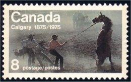(C06-67) Canada Calgary Stampede Horse Cheval MNH ** Neuf SC - Horses