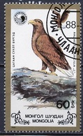 Mongolie - Mongolei - Mongolia 1988 Y&T N°1605 - Michel N°1992 (o) - 60m Aigle Pêcheur - Mongolie